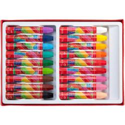 Пастели Faber-castell, маслени, 18 цвята