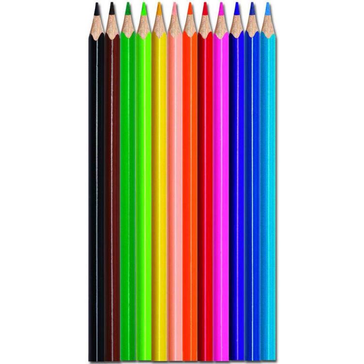 Цветни моливи Maped Color peps метална кутия, 12 цвята