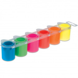 Темперни бои Primo neon, 6 цвята, 25 мл