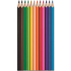 Цветни моливи Maped Color Peps триъгълни, 12 цвята